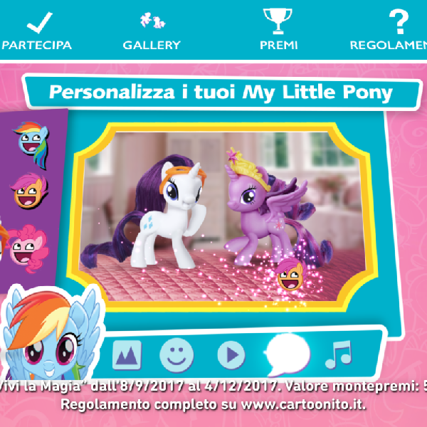 MY LITTLE PONY VIVI LA MAGIA